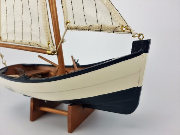 Sail Boat with Oars