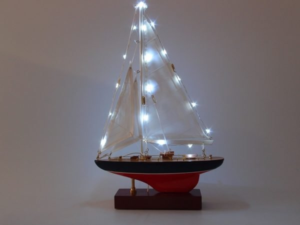 Yacht With LED Lights