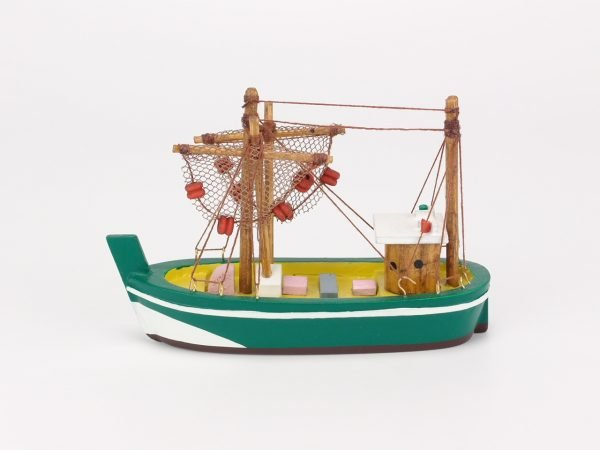 Trawler with Hanging Nets