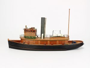 Abordage 1918 New York Harbor Tug Boat