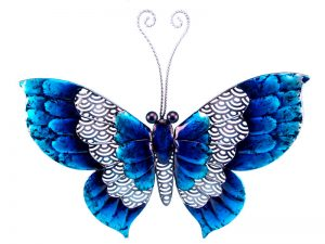 Butterfly Metal Plaque