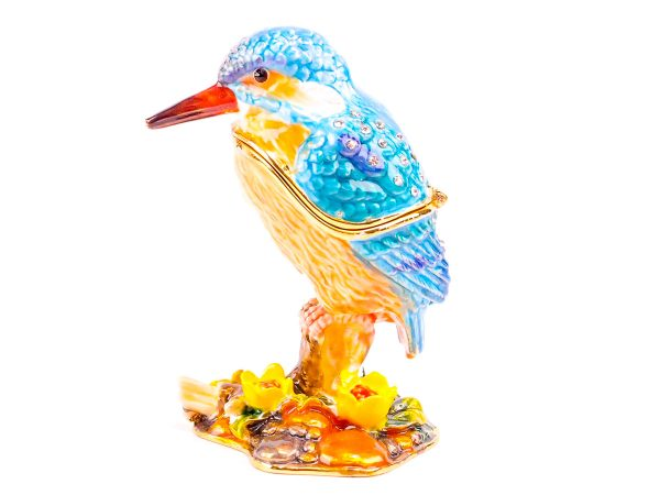 Cloisonne Kingfisher