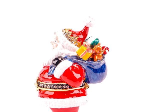 Cloisonne Father Christmas