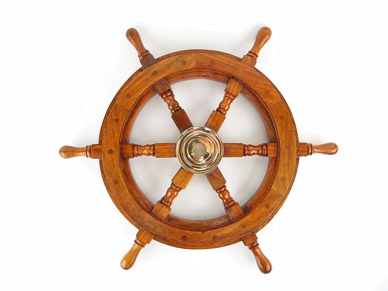Brass Nautical Gifts - Ship's Wheel