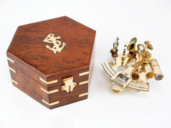 Brass Nautical Gifts - Brass Sextant