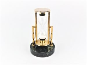 Swinging Brass Sand Timer