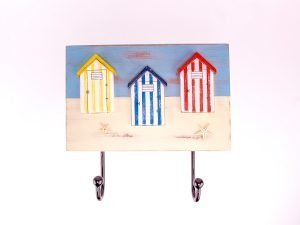 Beach Hut Decor Wall Hooks