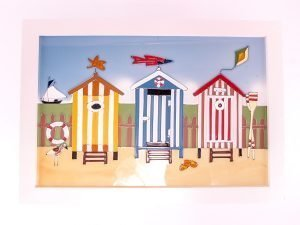 Seaside Scenes - Beach Huts