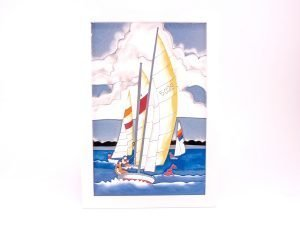 Seaside Scenes - Sailing Yachts