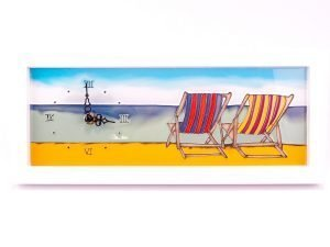 Seaside Scenes - Deck Chair Clock