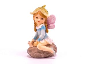 Sitting Fairy on a Stone