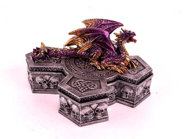 Dragon on Cross Box